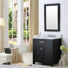 madison 30 single bathroom vanity set by water creation