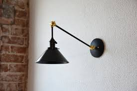 brass articulating wall sconce wall sconces