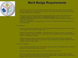 Emergency Preparedness Merit Badge Chart Emergency Preparedness Merit Badge Ppt Download