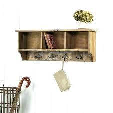 coat rack with shelf coat rack shelf rustic wall coat rack rustic natural wood wall mounted