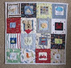 Shane's baby clothes quilt front   Baby clothes quilt, Babies ... & Baby clothes quilt baby-gifts What I want to do with my children's  favourite baby outfits Adamdwight.com