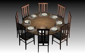 ideal size for a round dining table 8 com 60 inch set modern 15