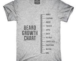 Beard Growth Chart Sweatshirt Beard Growth Shirt Etsy