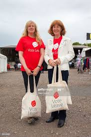 Vote Leave activists Penny Mills and Heather Darwin at the annual... News  Photo - Getty Images