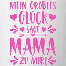Simsalapimp Mein Größtes Glück Sagt Mama Zu Mir Spruch Pink Tasse