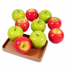 Green Apple Decorations For Kitchen Online Get Cheap Kitchen Fruit Decorations Aliexpresscom
