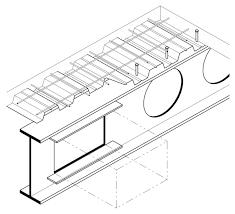 Web penetrations in steel beams