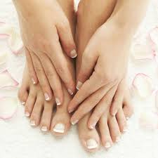 Classical Style White French False Fake Toe Nails Art Tip With Adhesive Sticker Ebay