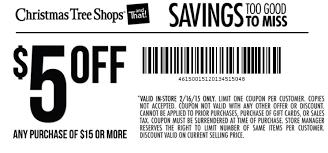 Screen Shot 2015-02-16 at 10.10.01 AM Save. Print: Christmas Tree Shops  Coupon