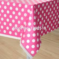 polka dot plastic tablecloth free pink color table cloth polka dots plastic table cover for