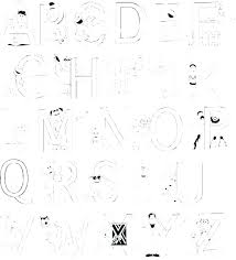 Free Coloring Pages For Preschoolers Alphabets Permalink To Alphabet