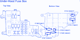 honda accord lx fuse box diagram image honda accord l x 1991 fuse box block circuit breaker diagram on 1990 honda accord lx fuse