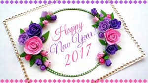 Happy New Year Greeting Card Handmade Greeting Cards For Special Occasions And Birthday