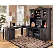 l desk office. Carlyle L Desk Credenza Tall Hutch Set Office