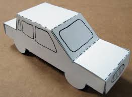 Foldable Paper Car Foldable Paper Car Barca Fontanacountryinn Com