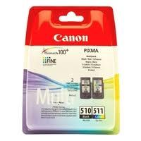 Набор <b>картриджей Canon</b> PG-510/CL-511 Multipack (2970B010 ...