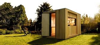 prefab garden office. Based In Leicester England Initstudios Is An Ecofriendly Company That Produces Designer Garden Buildings Like This Dedicated External Office Prefab