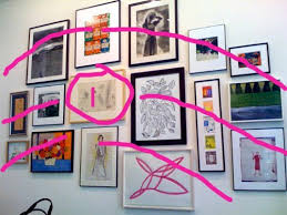 How To: Hang Art in Groups (Like Kate Spade)