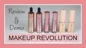 makeup revolution fast base stick foundation conceal define concealer liquid highlighter lifestyle with nika