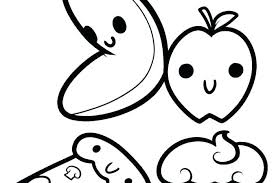 Coloring Pages That Are Cute Cute Coloring Pages Cute Fruit Coloring