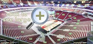 Kfc Yum Center Seat Row Numbers Detailed Seating Chart