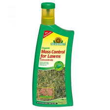 Image For Lawns Neudorff Organic Moss Control For Lawns Concentrate 1ltr