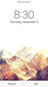why does iOS darken my wallpaper after ...