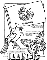 Small Picture Illinois Coloring Page crayolacom