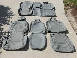 toyota tundra crewmax crew max leather seat covers interior seats 2007 2008 2009