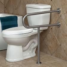 Pickens U Shape Grab Bar With Leg Support Bathroom