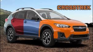 2019 Subaru Color Chart 2018 Subaru Crosstrek All Color Options