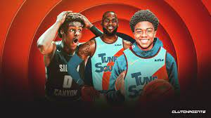 star who plays LeBron James' son in ...