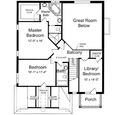 Bedroom Narrow Lot House Plan   ST   nd Floor Master Suite    Reverse Floor Plan Pinit white