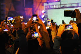Image result for group cellphone video shooting