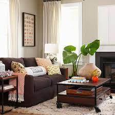 brown couch decor brown leather couch