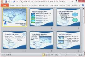 Science Presentation Powerpoint Template Best Powerpoint Templates