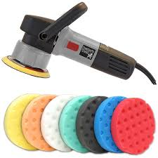 poorboy s pb da900 dual action polisher with two lake country pads