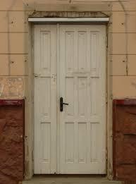 white wood door texture. Worn Single Wooden Door With White Paint And Black Metal Handle. Wood Texture 5