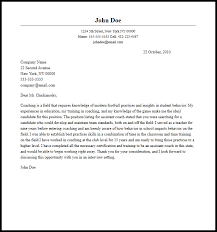 sample coaching cover letter | Template