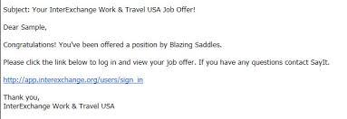 J1 Ie Step 3 Job Offer