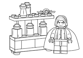 Stunning Design Harry Potter Lego Coloring Pages Severus Snape Page