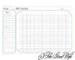 Bill Calendar Template Magnificent Free Monthly Bill Organizer Template Excel Ate Gallery Design Ideas
