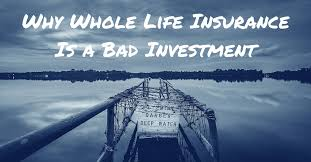 Life insurance for seniors is the same type of life insurance available at any age, but it's often priced and marketed differently. Why Whole Life Insurance Is A Bad Investment Mom And Dad Money