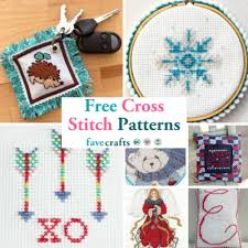 Free Cross Stitch Charts For Beginners 31 Free Cross Stitch Patterns Favecrafts Com
