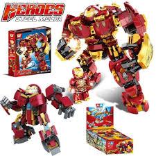 Mô Hình Đồ Chơi Lắp Ráp Lego Robot Biến Hình Marvel chính hãng 146,700đ