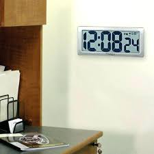 large office wall clocks. large office wall clocks digital jumbo clock at .