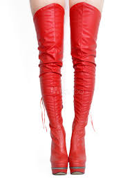 thigh high boots high heel women s black pu leather over knee boots no
