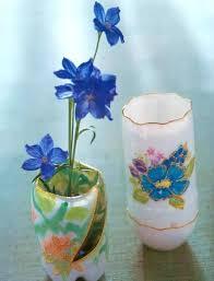 Decoration With Plastic Bottles 60 Creative Ideas to Recycle Plastic Bottles for Decorative Vases 21