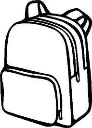 Small Picture Simple Design Backpack Coloring Pages Best Place to Color