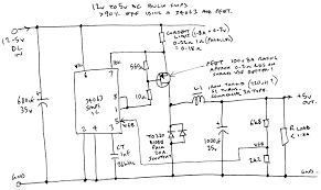 12v to 5v dc high efficiency smps buck converter using 34063 ic sorry for the hand drawn schematic